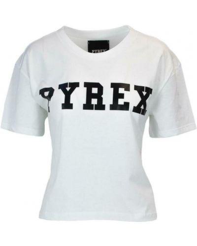 Biała t-shirt Pyrex