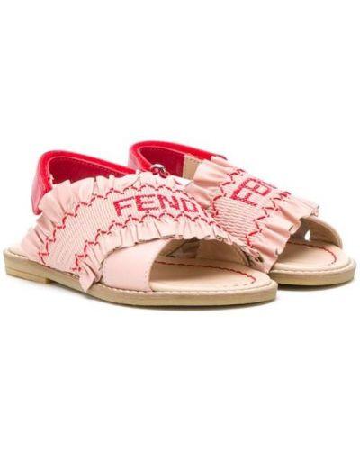 Сандалии розовый Fendi Kids