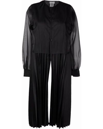 Черная блузка с длинными рукавами Comme Des Garçons Noir Kei Ninomiya