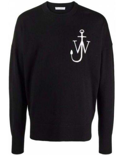 Czarny sweter Jw Anderson