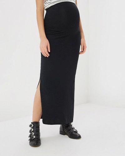 Черная юбка весенняя Mama.licious