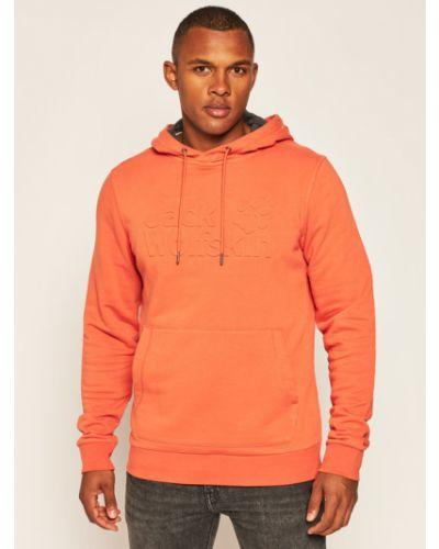 Pomarańczowa bluza Jack Wolfskin