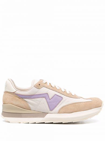 Białe buty sportowe skorzane Visvim