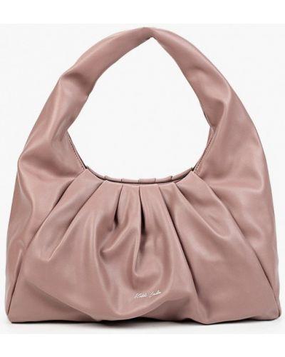Кожаная сумка - розовая Keddo