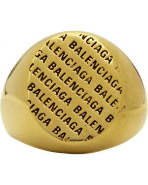 Pierścień ze złota Balenciaga