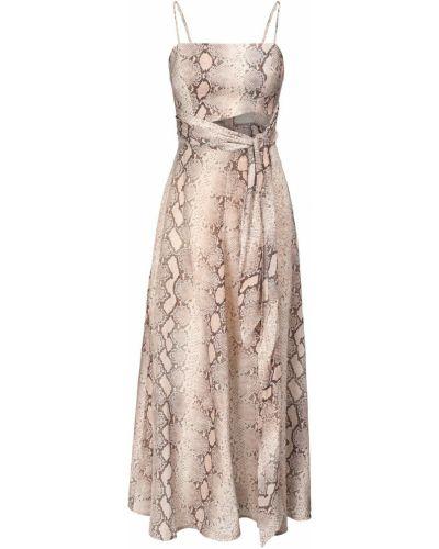 Платье миди на бретелях льняное Zimmermann