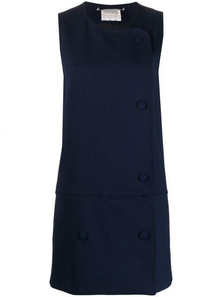 С заниженной талией платье с запахом на пуговицах без рукавов Stella Mccartney