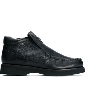 Кожаные ботинки треккинговые Baldinini