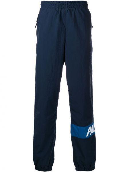 Хлопковые спортивные брюки - синие Palace