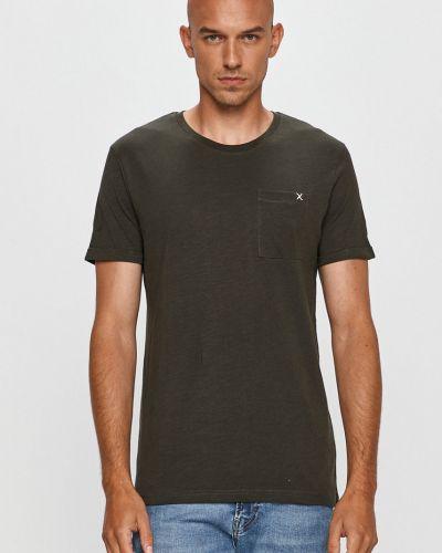 Zielony t-shirt bawełniany Clean Cut Copenhagen