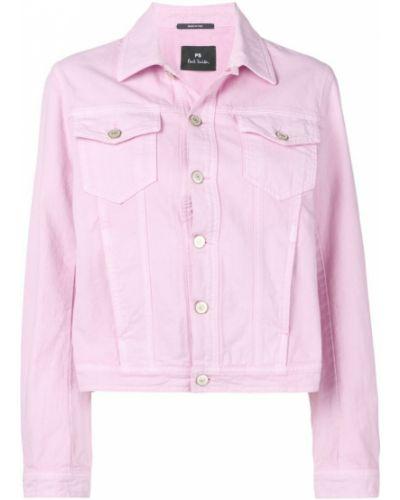 Розовая джинсовая куртка Ps Paul Smith