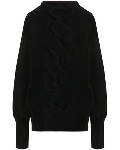 Шерстяной свитер - черный Roque