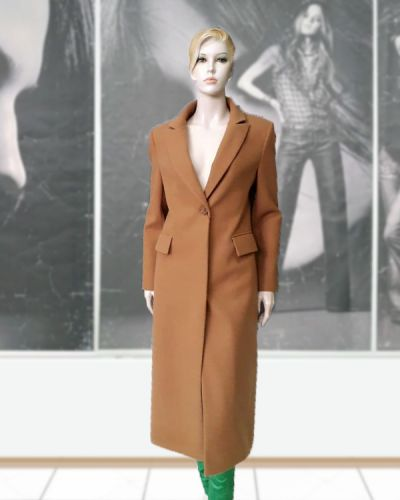 Шерстяное пальто - коричневое Elvi