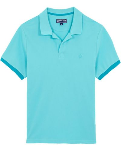 Niebieska koszulka Vilebrequin