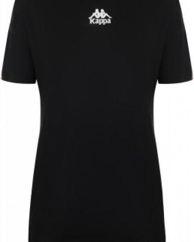 Спортивная футболка черная из вискозы Kappa