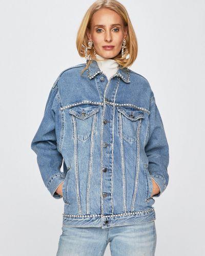 Укороченные джинсы mom свободные Guess Jeans