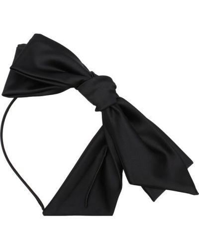 Черный ободок Emporio Armani