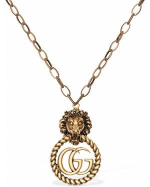 Naszyjnik ze złota Gucci