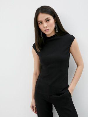 Черная блузка летняя Trussardi