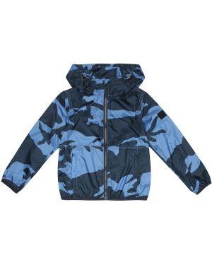 Пиджак шерстяной синий Woolrich Kids