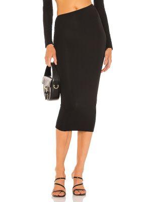 Czarna spódnica asymetryczna Camila Coelho