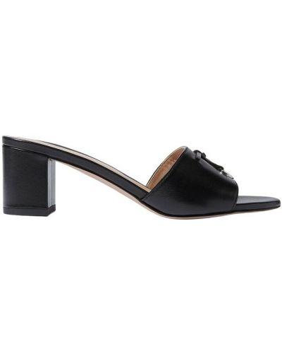 Czarne sandały Scarosso