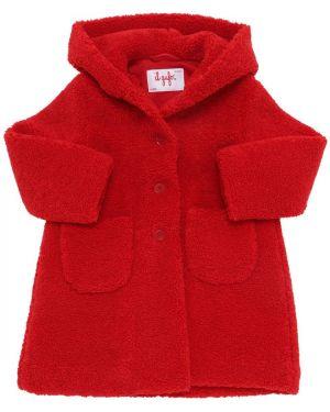 Płaszcz z kapturem z kieszeniami Il Gufo