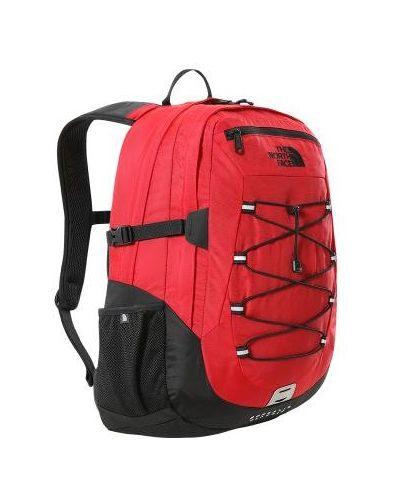 Czarny plecak turystyczny z nylonu oversize The North Face