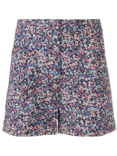 Однобортные короткие шорты с карманами Michael Michael Kors