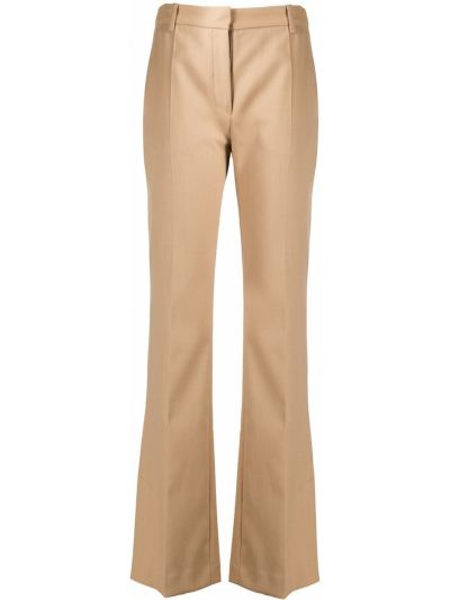 Расклешенные хлопковые брюки с карманами Baum Und Pferdgarten