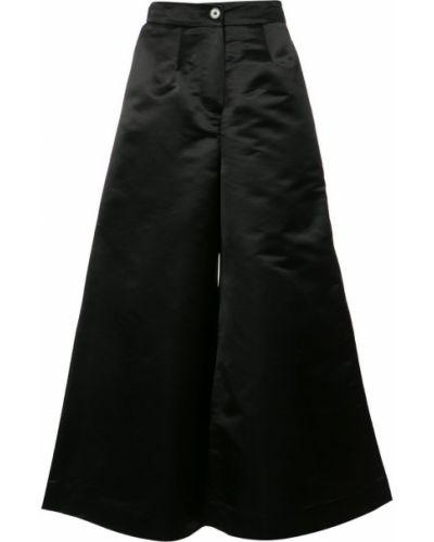 Свободные брюки черные Tome