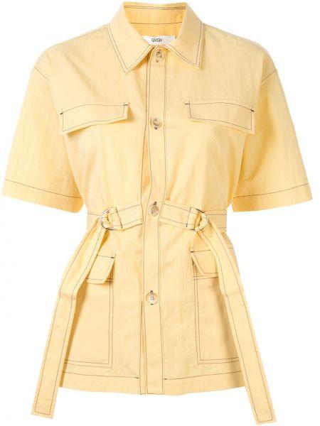 Рубашка с коротким рукавом - желтая G.v.g.v.