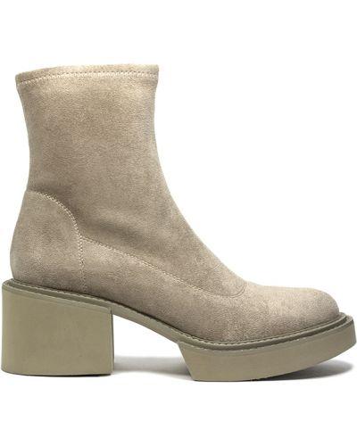 Ботинки - бежевые Wit Mooni