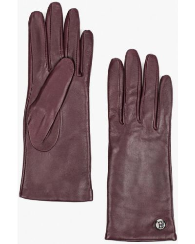 Фиолетовые зимние перчатки Eleganzza