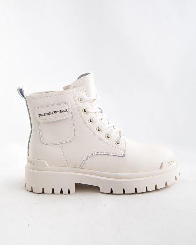 Бежевые ботинки осенние Sidestep