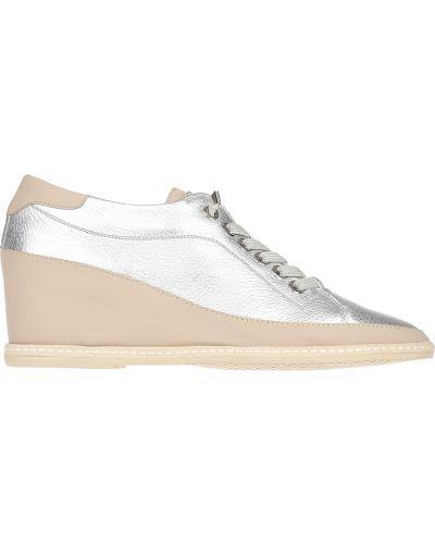 Туфли на каблуке кожаные на каблуке Pakerson