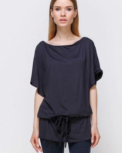 Черная туника туника-блуза Freya