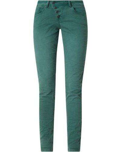 Zielone spodnie bawełniane Buena Vista