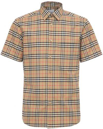 Bawełna beżowy bawełna koszula Burberry