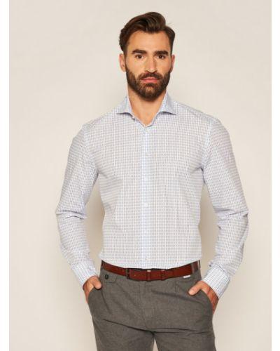 Niebieska koszula Baldessarini
