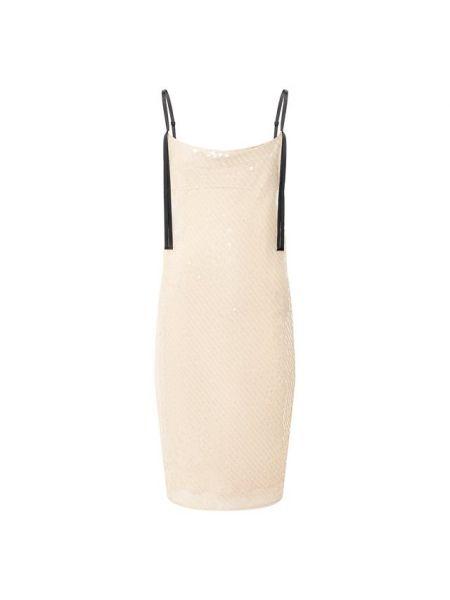 Платье с пайетками - золотое Dorothee Schumacher