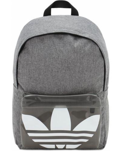 Czarny plecak na laptopa z nylonu Adidas Originals