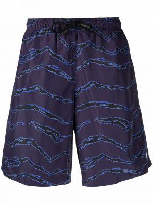 Boardshorty - niebieskie Marcelo Burlon County Of Milan