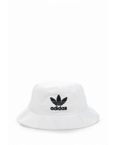 Белая панама Adidas Originals