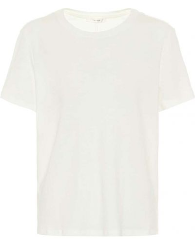 Ватная хлопковая белая рубашка The Row