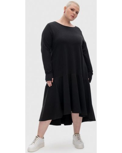 Повседневное платье - черное Lessismore