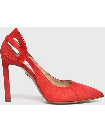 Туфли на каблуке - красные Baldowski
