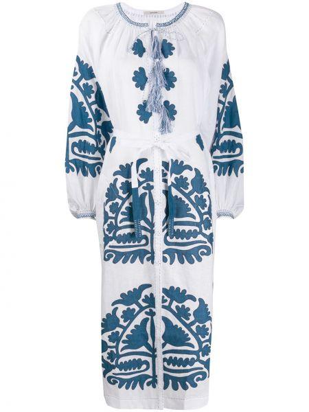 Платье миди облегающее с цветочным принтом Vita Kin