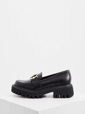 Черные зимние туфли Ballin