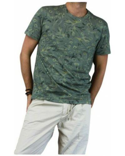 T-shirt - zielona Garcia